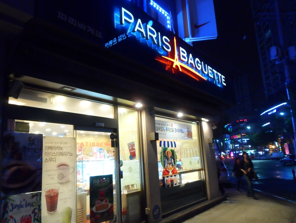 Paris Baguette Seoul  South Korea
