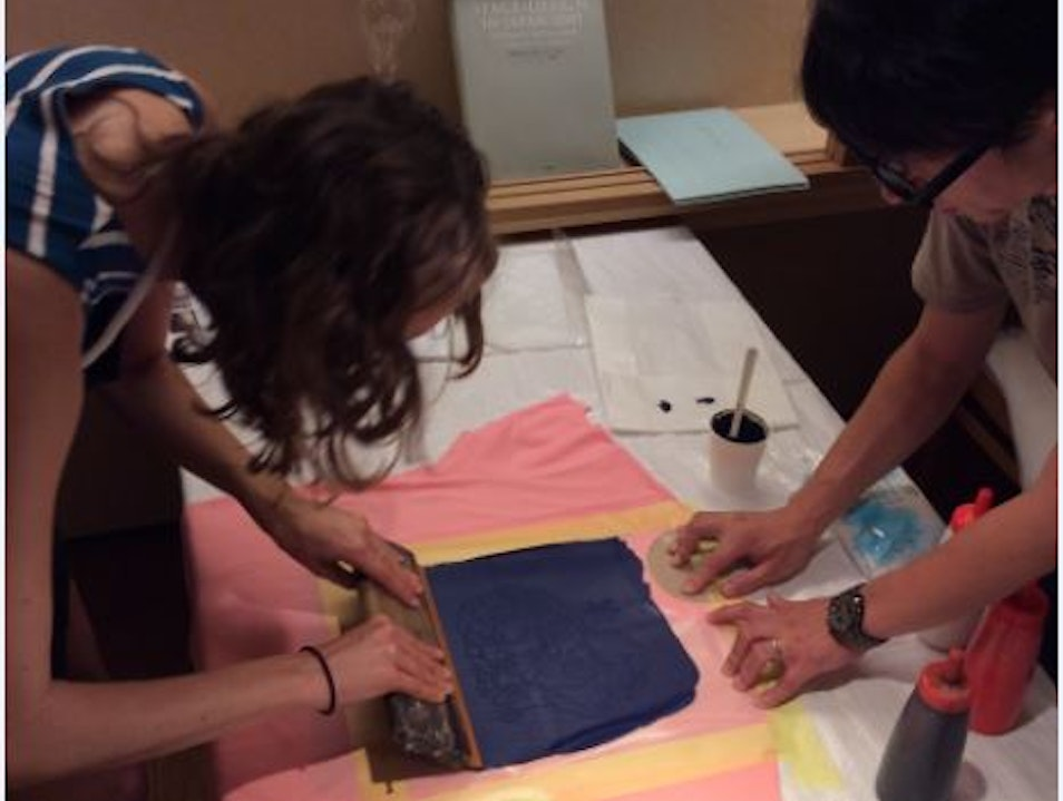 Screen Printing your own shirt