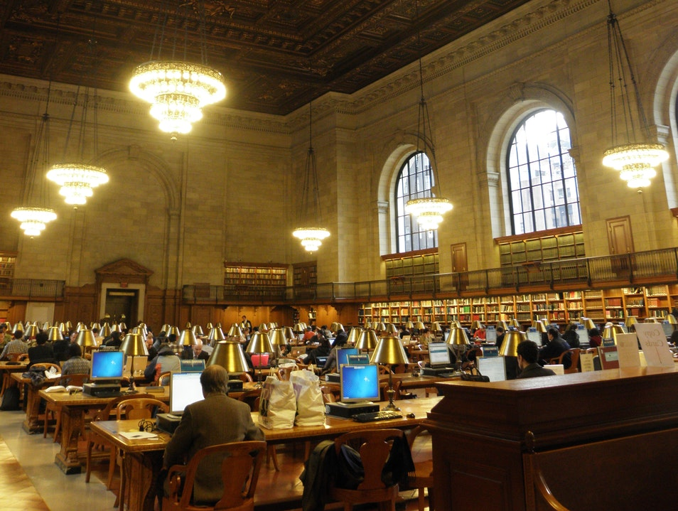 NY Public Library New York New York United States