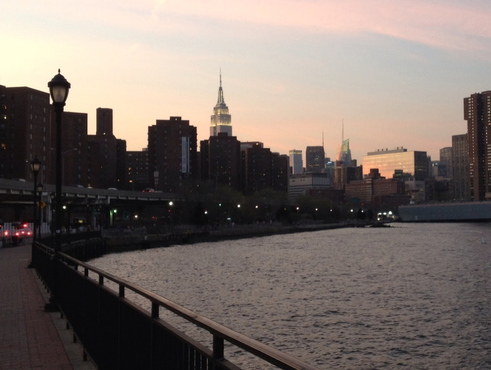 Go for a Walk in East River Park