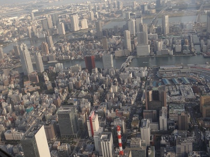 EXCEL Helicopter Cruising Urayasu  Japan