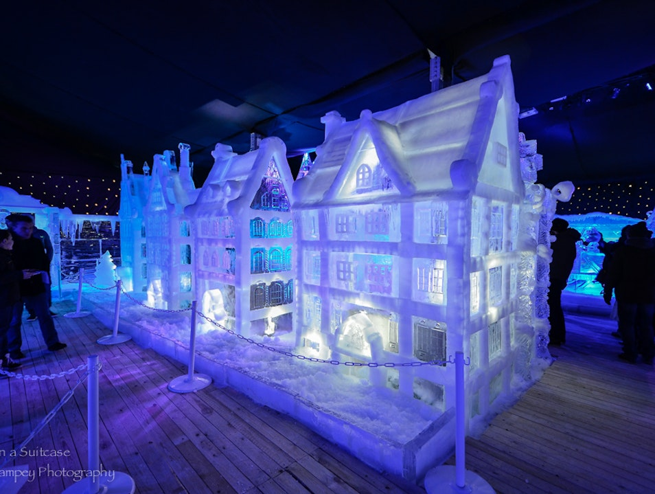 The Snow & Ice Sculpture Festival Bruges 2013
