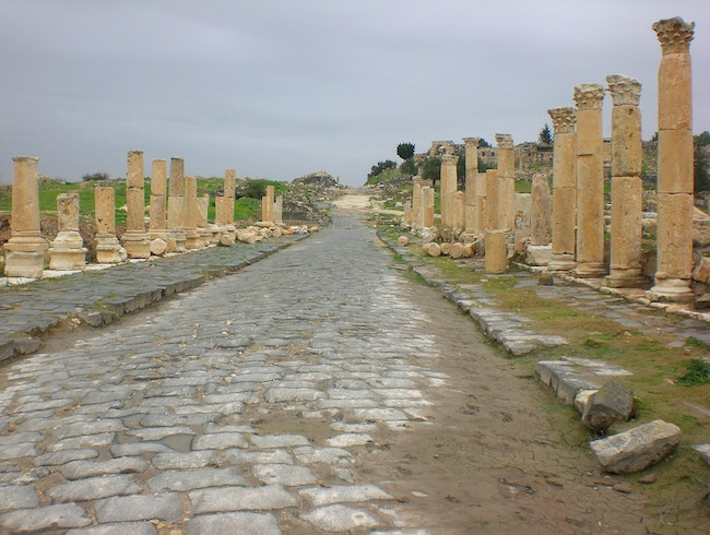 Wander through Ancient Gadara at Umm Qais