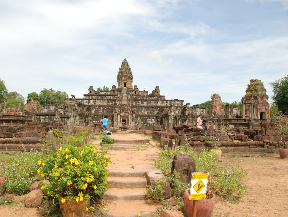 The Older Old Capital Prasat Bakong  Cambodia