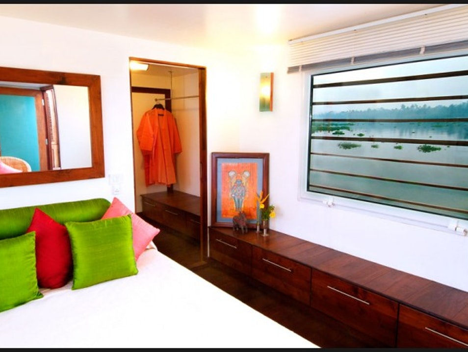 Boutique B&B with boat Kochi  India