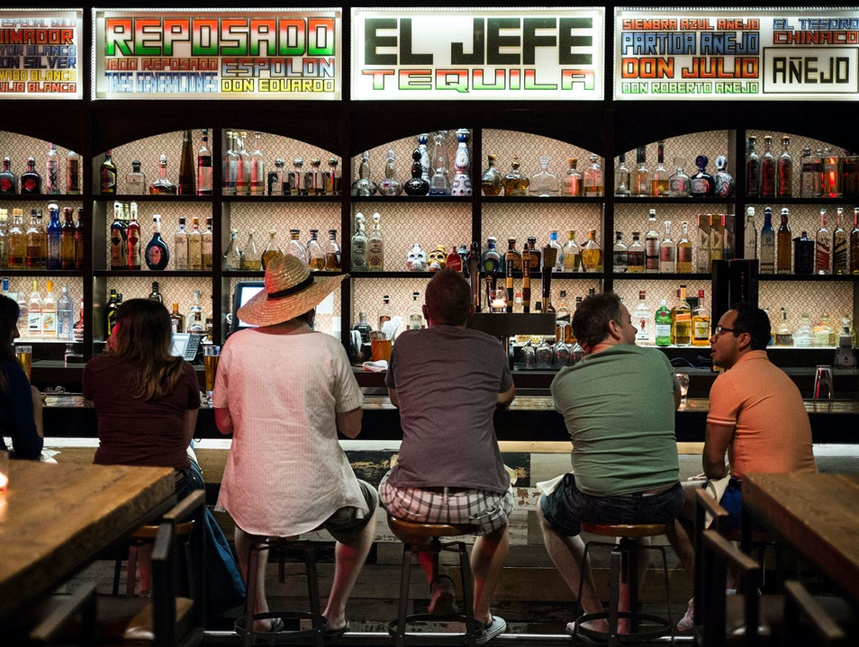 Time for Tequila at El Jefe Palm Springs California United States