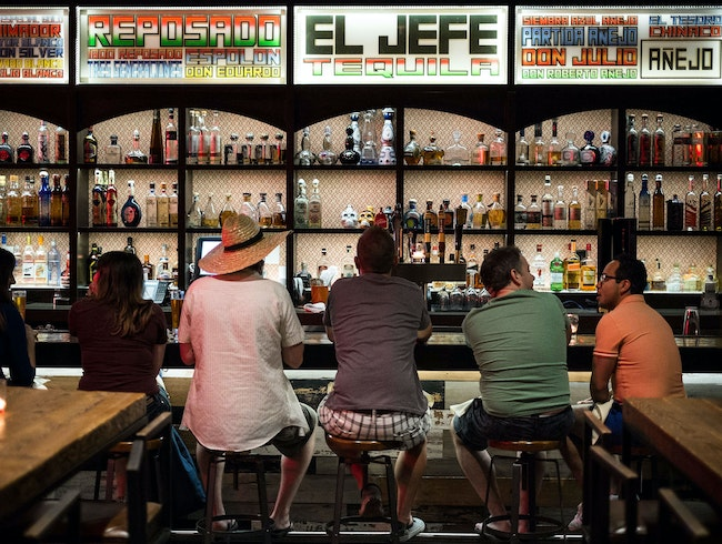 Time for Tequila at El Jefe