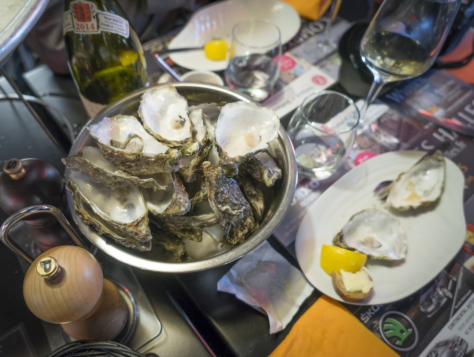 Oysters, Cheese, Wine & Repeat (a few times...)