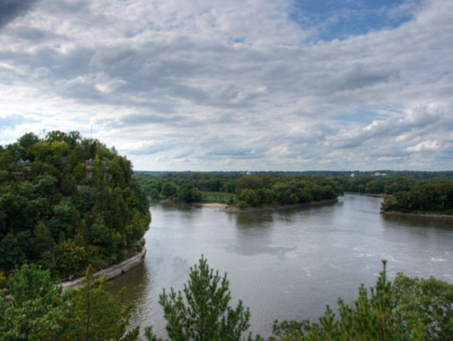 Lover's Leap at Starved Rock