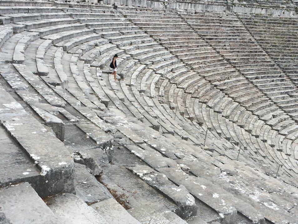 The Best Preserved Ancient Theater Epidavros  Greece