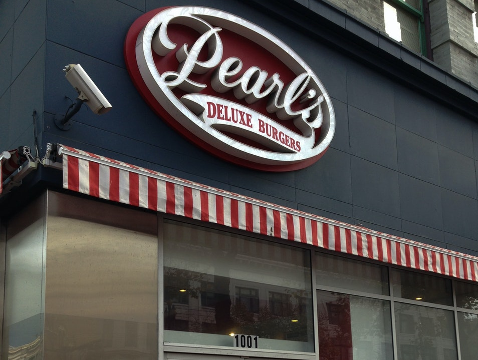 San Francisco's Pearl's Deluxe Burgers San Francisco California United States