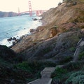 Battery to Bluffs Trail San Francisco California United States