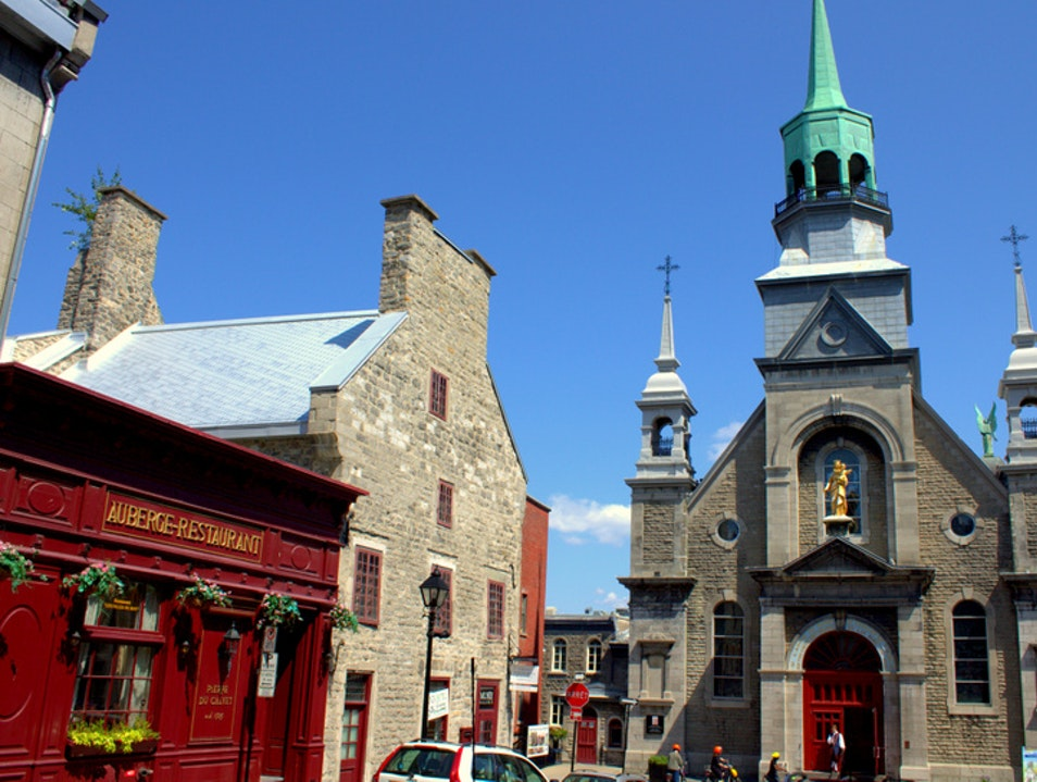 The Oldest Chapel in Old Montreal