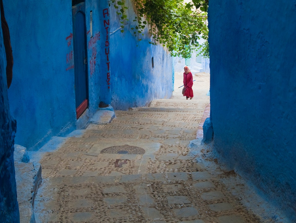 The Blue Town Chefchaouen  Morocco