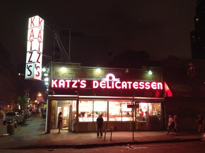 Katz's Delicatessen New York New York United States