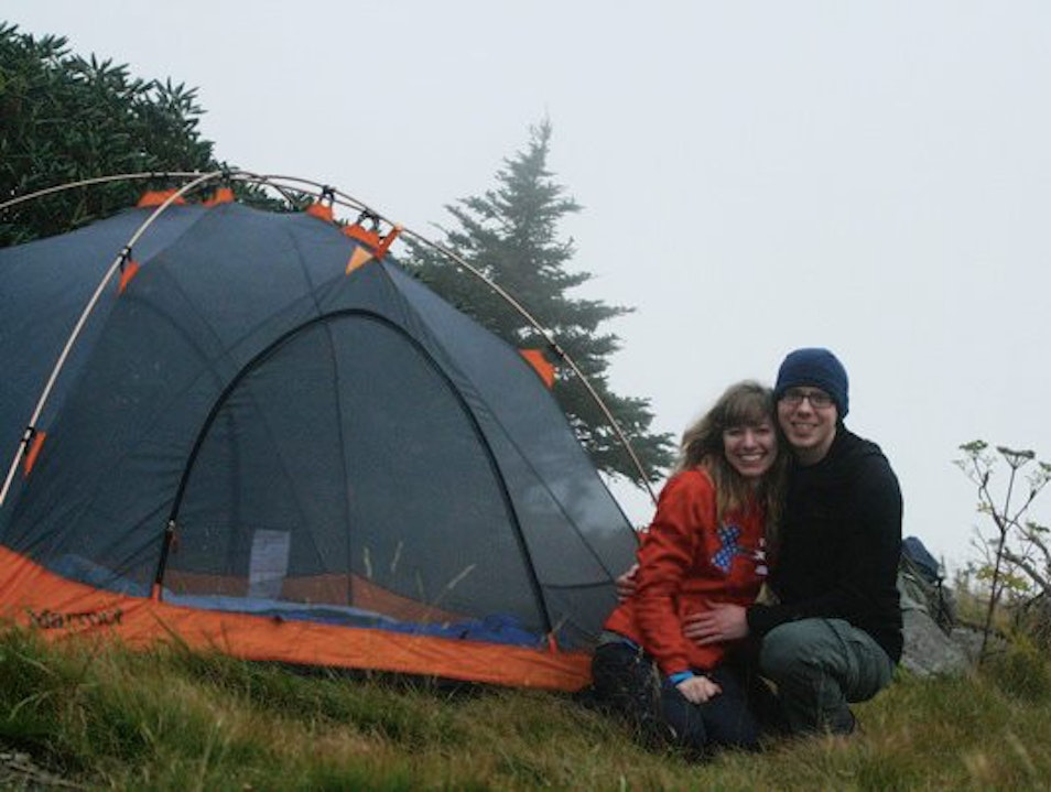 Camping on Roan Mountain Roan Mountain Tennessee United States
