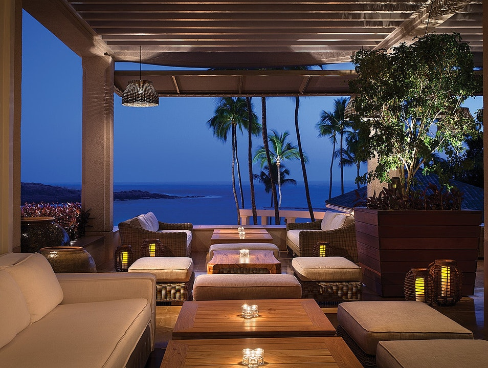 Nobu Lanai a Great Place for a Cocktail on Lanai Wailuku Hawaii United States