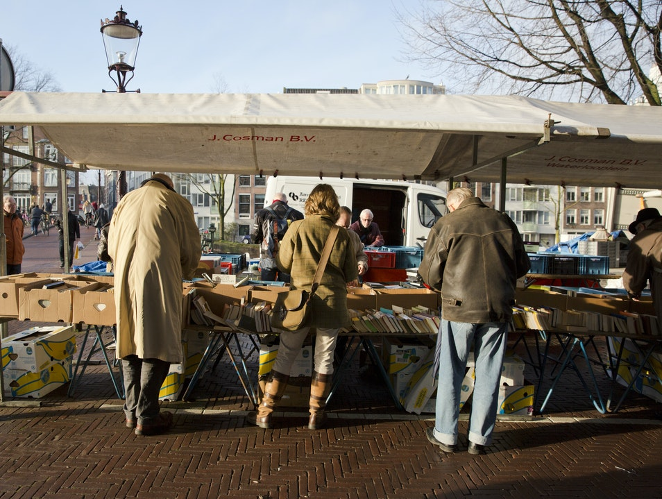 Waterlooplein Market Maasvlakte Rotterdam  The Netherlands