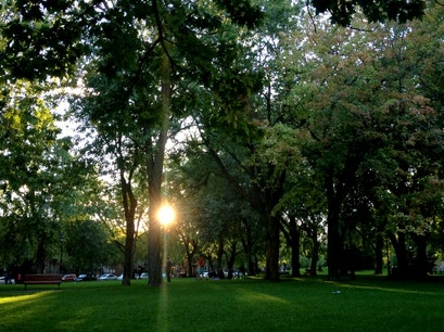 Sir Wilfrid Laurier Park Montreal  Canada