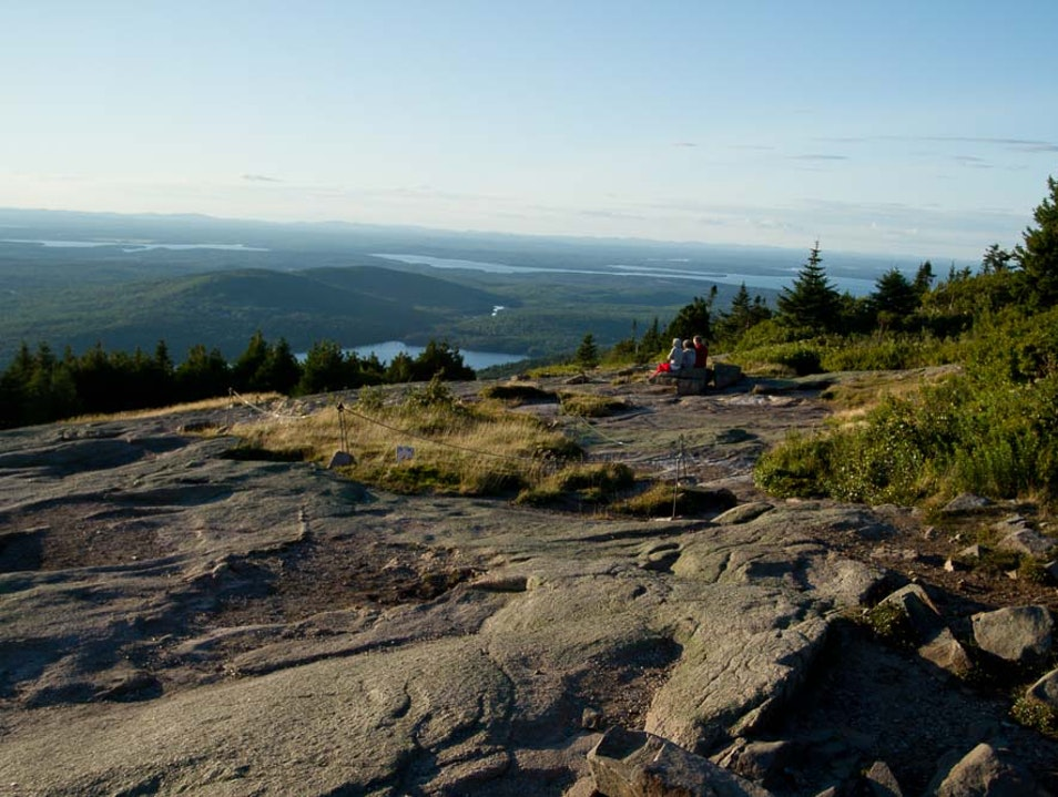 A Drive Up A Mountain in Maine  Bar Harbor Maine United States