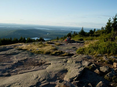 Cadillac Mountain Bar Harbor Maine United States