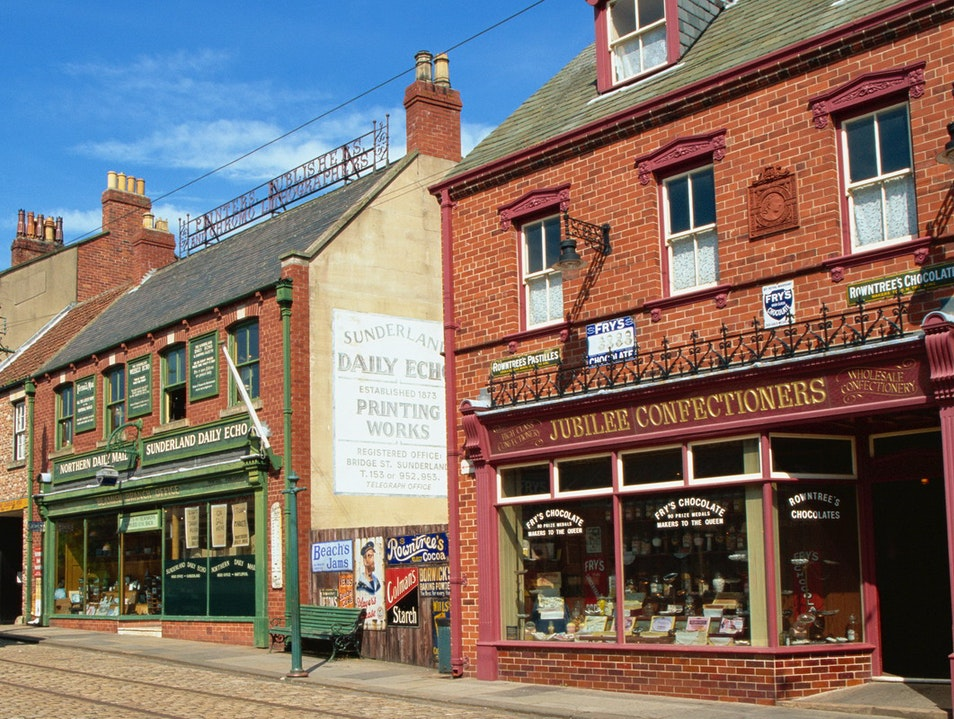 Beamish Museum Newcastle Upon Tyne  United Kingdom