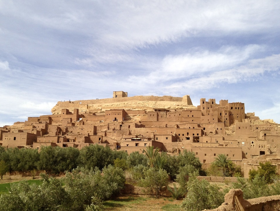 The historic village where life goes on as in ancient times Aït Benhaddou  Morocco