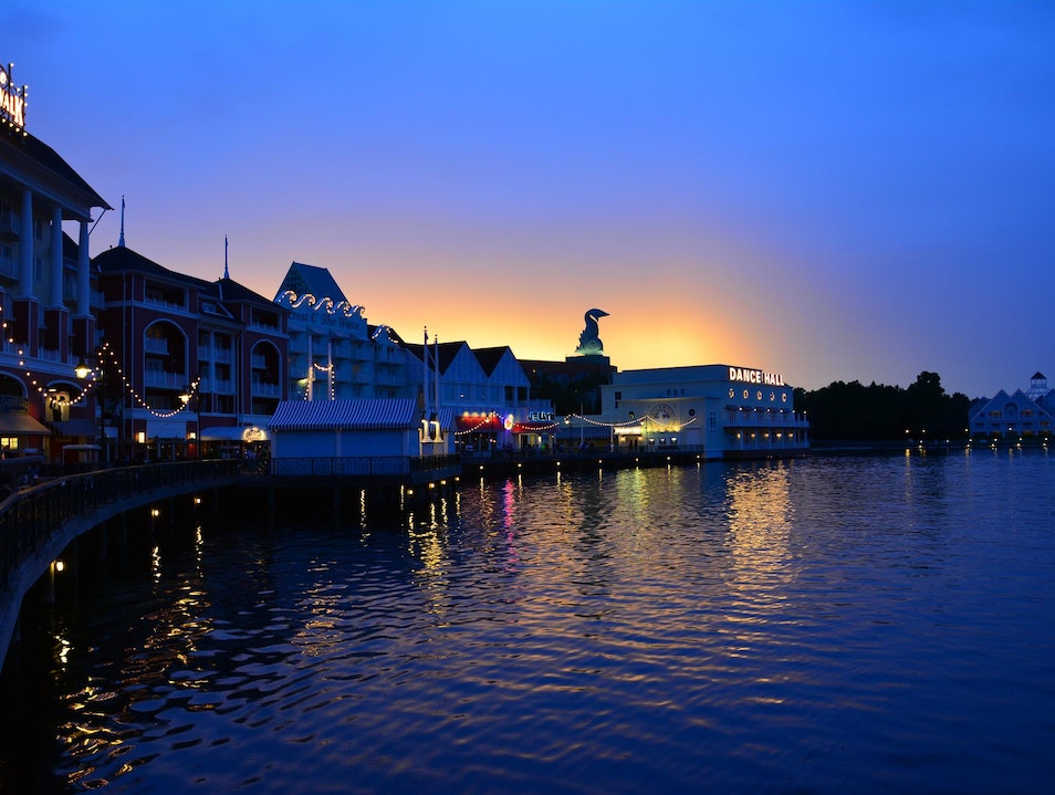 A night at the Boardwalk Lake Buena Vista Florida United States