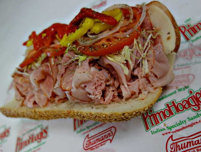 Try the best hoagie in all of Philly