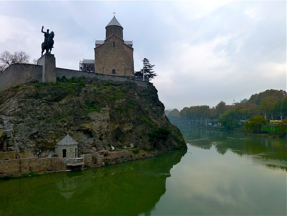 Monasteries on the river