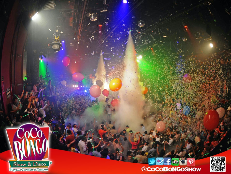 Top Billing at Coco Bongo Cancun  Mexico