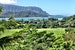 Iconic view of Hanalei Bay from Princeville