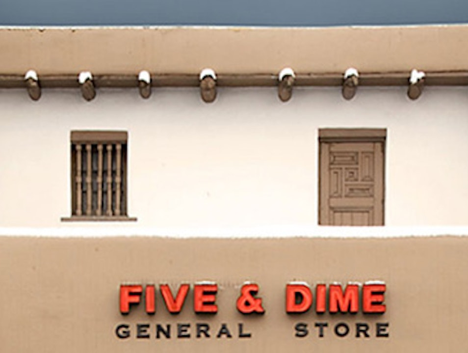 The Old Five and Dime Santa Fe New Mexico United States