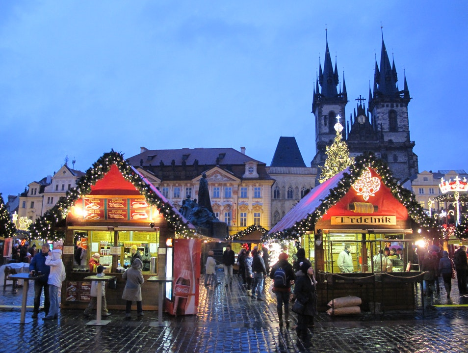 Magical Christmas Market Nižbor  Czechia