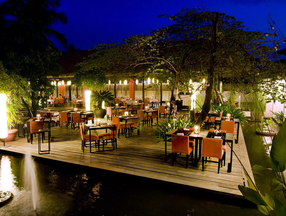 Fusion Food in a Romantic Setting Siem Reap  Cambodia