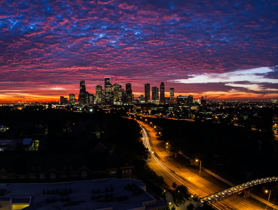 Another Ho-hum Dawn in Houston Houston Texas United States