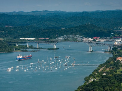 Bridge of the Americas Panama City  Panama