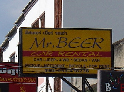 Mr. Beer Bigbike Mueang Chiang Mai  Thailand