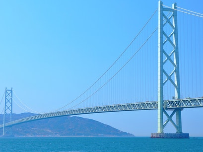 Seto Great Bridge Sakaide  Japan