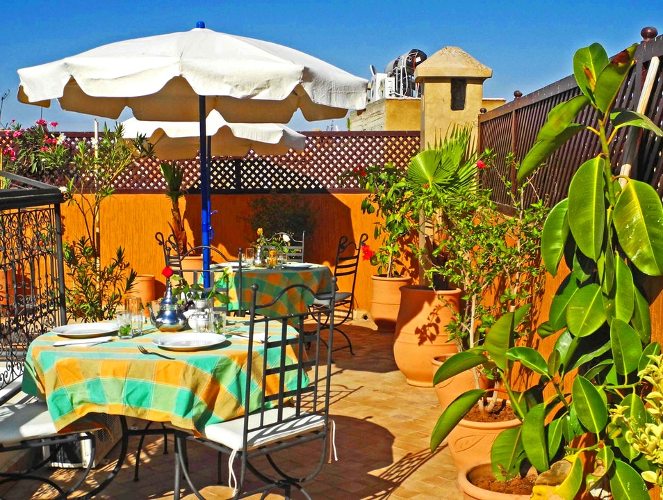 Beautiful Riad in the Marrakech medina Marrakech  Morocco