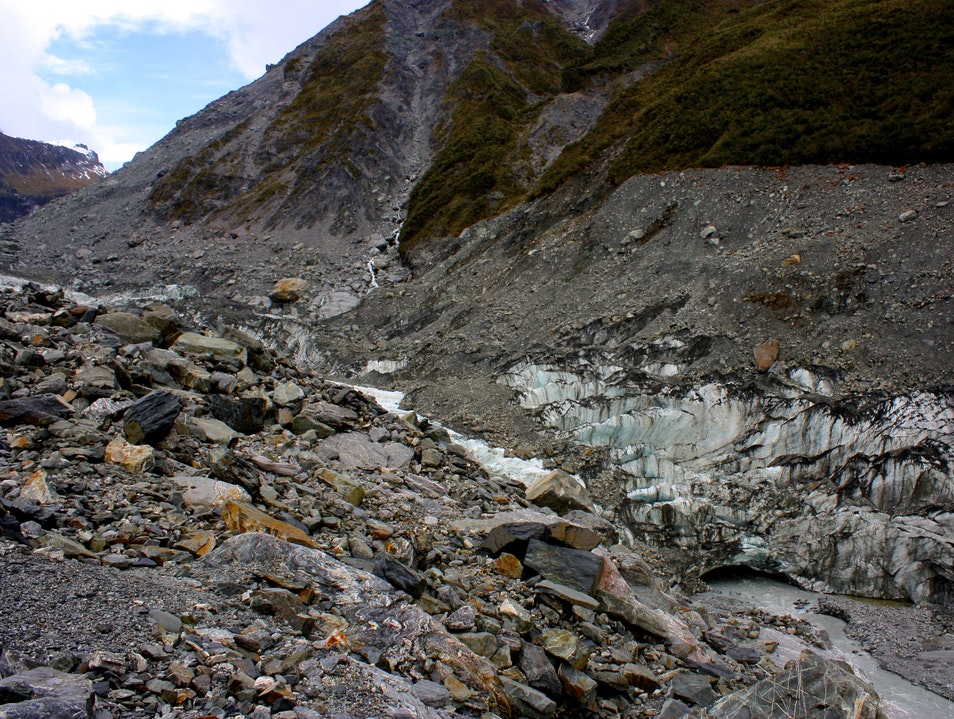 Ice tramping on Fox Glacier Fox Glacier  New Zealand