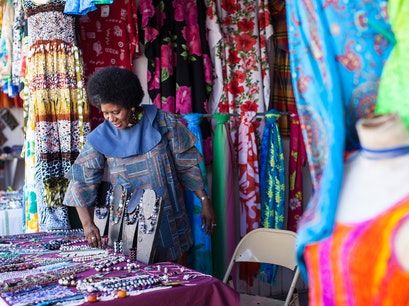 Amina Craft Market  Basseterre  Saint Kitts and Nevis