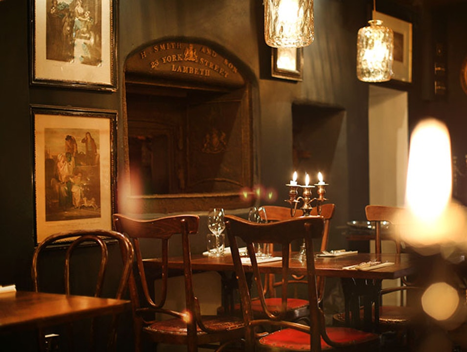 Dine in a Georgian Gem London  United Kingdom