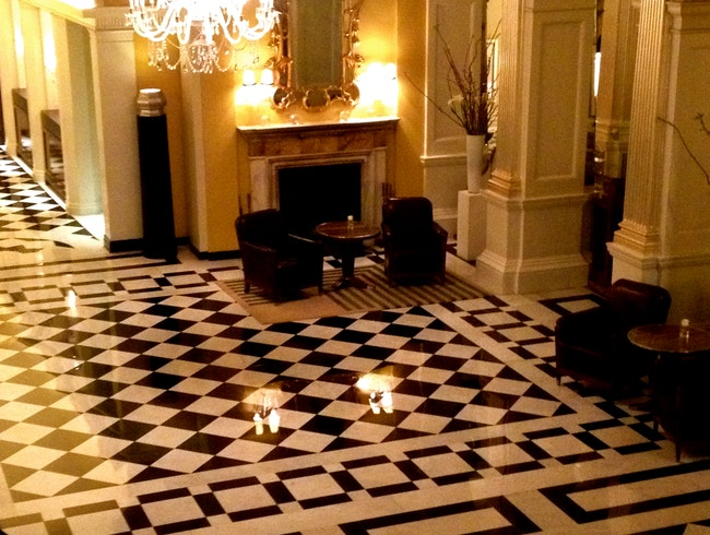 Inside Claridge's