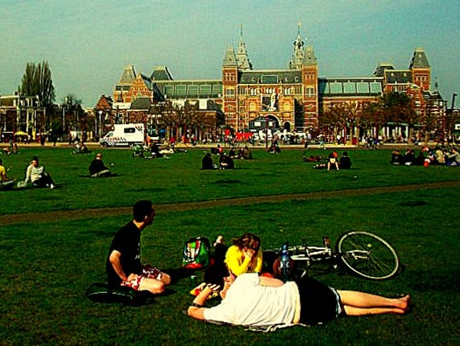 Museumplein: Where the Grass is Always Greener