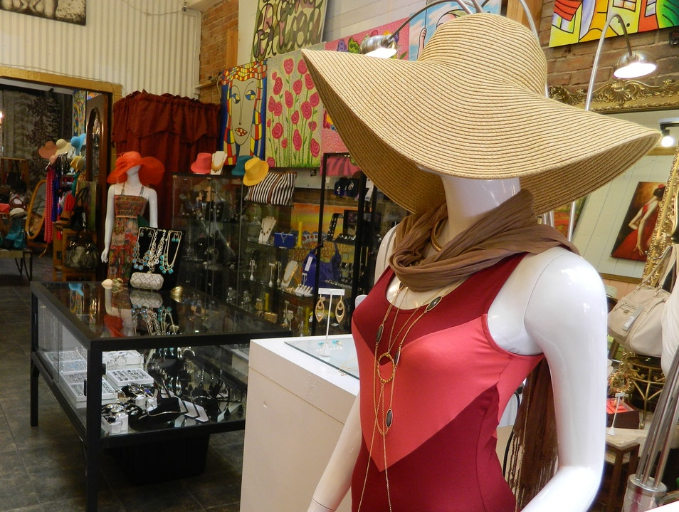 Gaslamp Boutique for Fashion, Jewelry, and Local Art San Diego California United States
