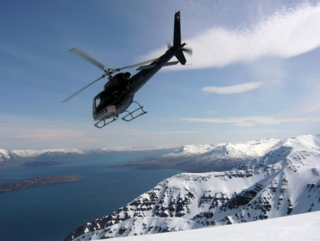 Explore Iceland's Terrain by Heli Skiing