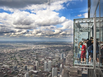 Willis Tower and Skydeck Chicago Chicago Illinois United States