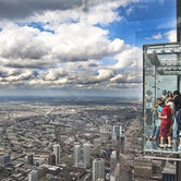 Willis Tower and Skydeck Chicago