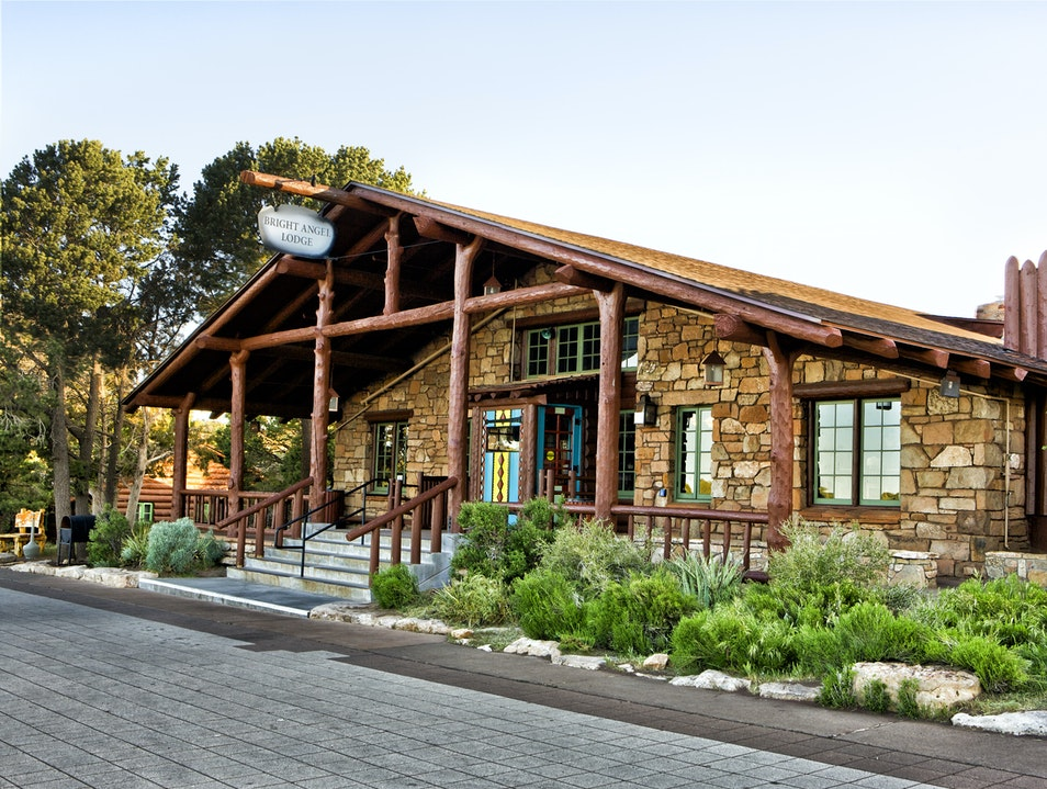 Bright Angel Lodge Grand Canyon Village Arizona United States